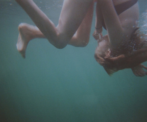 sea and underwater image