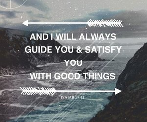 god, quote, and isaiah image