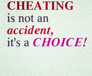 cheat, hate, and choice image