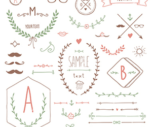 arrows, borders, and banners image