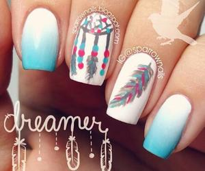 nails, Dream, and dreamer image