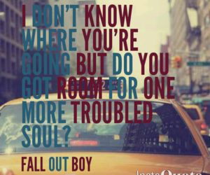 fall out boy, FOB, and alone together image