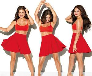 beautiful, lucy hale, and pretty little liars image