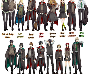 anime, harry potter, and fred weasley image