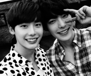 lee jong suk, kim woo bin, and actor image