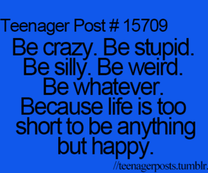 life, happy, and teenager post image