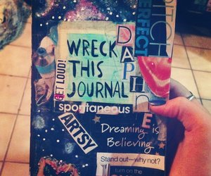 wreck this journal, art, and cool image