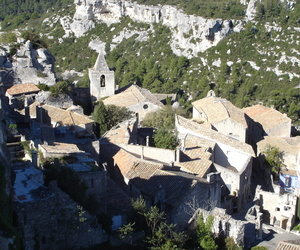 france, mountain, and village image