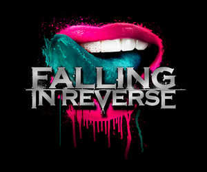 falling in reverse, band, and lips image