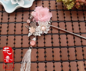 handmade, hairstick, and chinesethings image