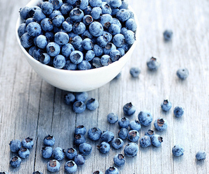 berries, blueberries, and delicious image