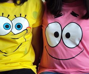 patrick, spongebob, and friends image