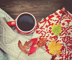 autumn, coffee, and goodmorning image