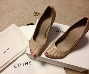 celine, shoes, and heels image