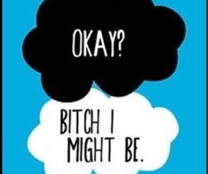 john green, okay, and tfios image
