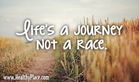 Quote Lifes A Journey Not A Race Inspirational Quotes