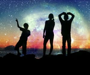 awesome, family, and galaxy image