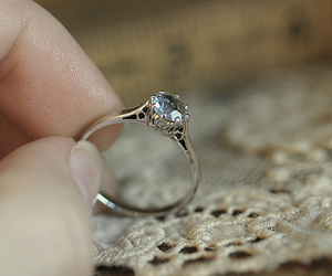 ring and hand image