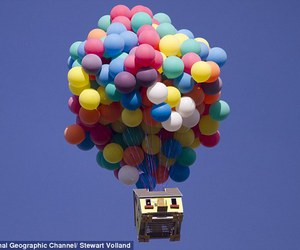 amazing, balloons, and up image