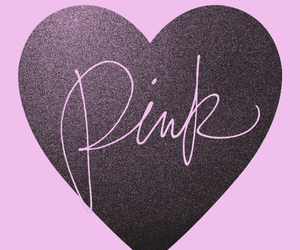 pink, heart, and vs image