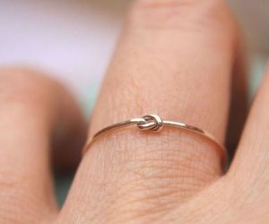 ring, knot, and style image