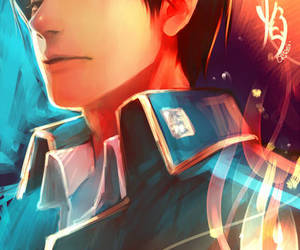 roy mustang and anime image