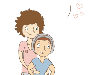 pregnat, larry stylinson, and larry image