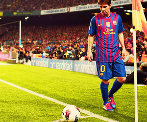 fc barcelona and messi image