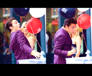 balloon, chuck bass, and ed westwick image