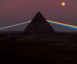 Pink Floyd and moon image