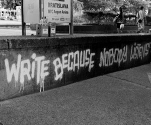 write, quotes, and listen image