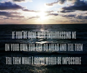 hope, impossible, and james arthur image