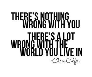 quote, world, and glee image