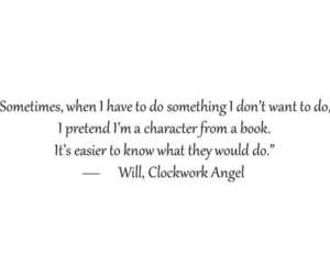 angel, quote, and clockwork angel image
