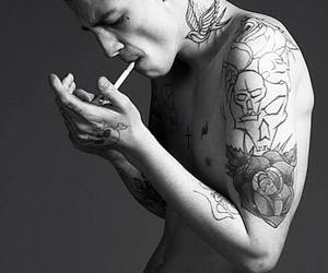 Ash Stymest, guy, and sexy image
