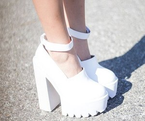fashion, jeffrey campbell, and neon image