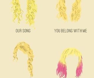 Taylor Swift, hair, and our song image