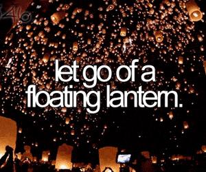 bucket list, lantern, and before i die image