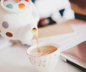 tea, photography, and cup image