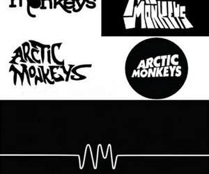 am, arctic monkeys, and b&w image
