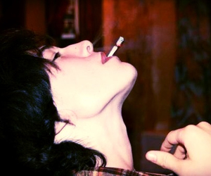smoking and ezra miller image