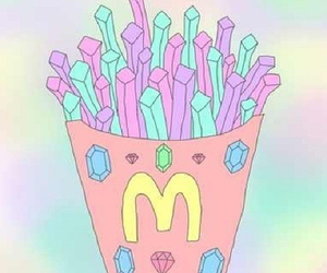 McDonalds, pastel, and kawaii image
