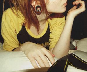 girl, lips, and Plugs image