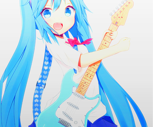 vocaloid, hatsune miku, and cute image