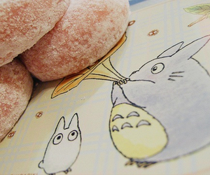 totoro, cute, and food image