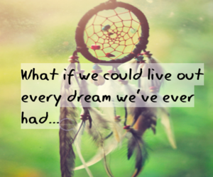 Dream, life, and people image