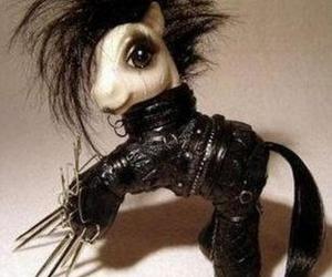 edward scissorhands, my little pony, and pony image