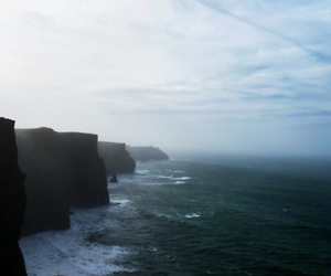cliffs, ireland, and sky image