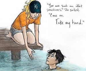 percy jackson, wise girl, and percabeth image