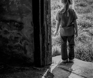 beautiful, black and white, and children image